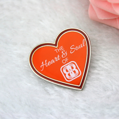 Lapel Pins for Heart and soul