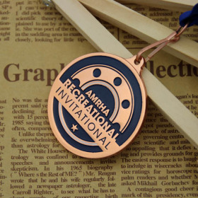 AMRHA Custom Award Medals