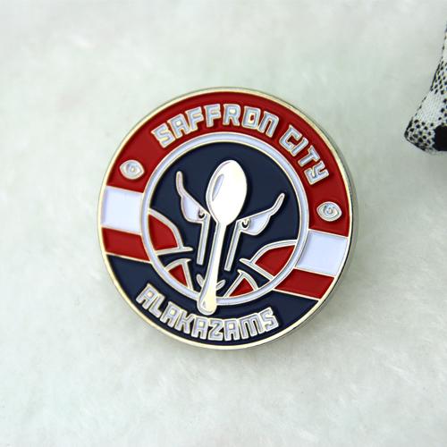 Lapel Pins for Saffron City