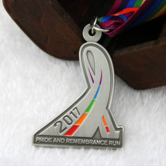 Pride and Remembrance Run Customized Medals