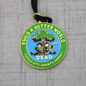 Read Customized Soft Enamel Medals