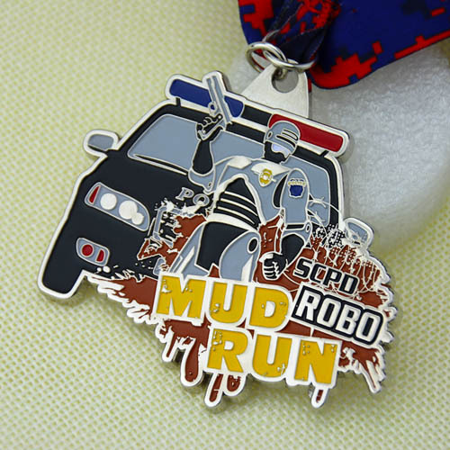 Mud Run Customized Medals