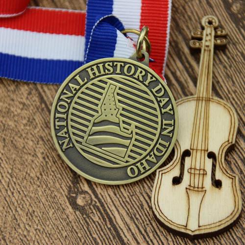 Idaho National History Day Custom Medals