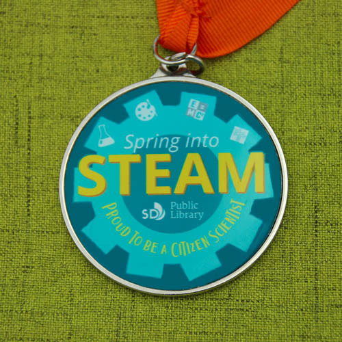 Public Library Customized Medals