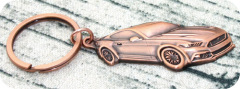 Antique Car Keychain