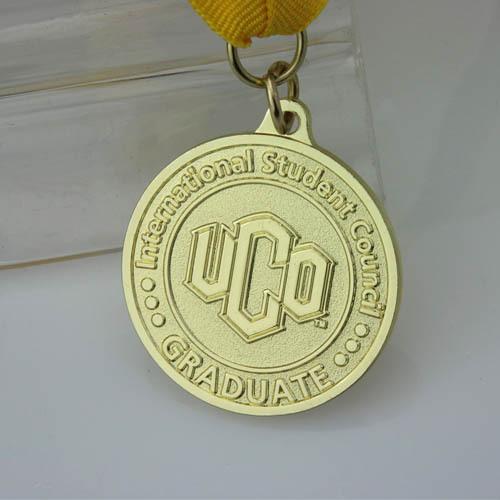 Graduate Custom Gold Medals