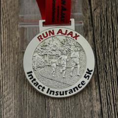Intact Insurance 5K Custom Medals