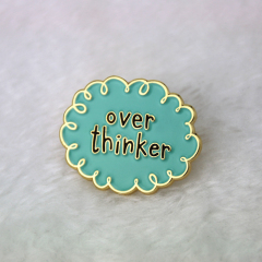 custom enamel pins for Thinker