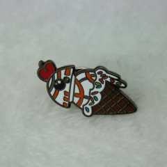 Lapel Pins for Cherry Icecream