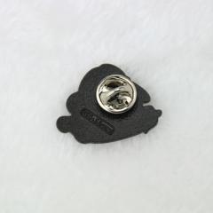 custom enamel pins for Eggplant and Peach