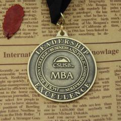MBA Custom Award Medals