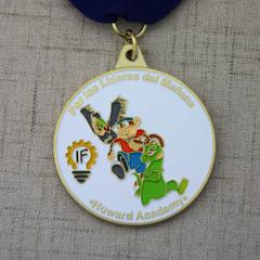 Howard Academy Custom Soft Enamel Medals
