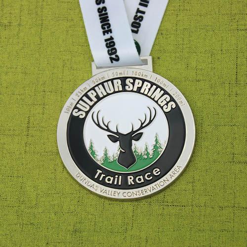Sulphur Springs Trail Race Medals