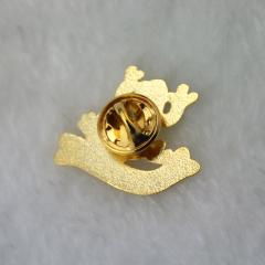 Golden Frog Lapel Pins