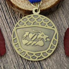 Dragon Boat Custom Antique Medals
