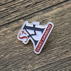 Lapel Pins for Saint Ambrose