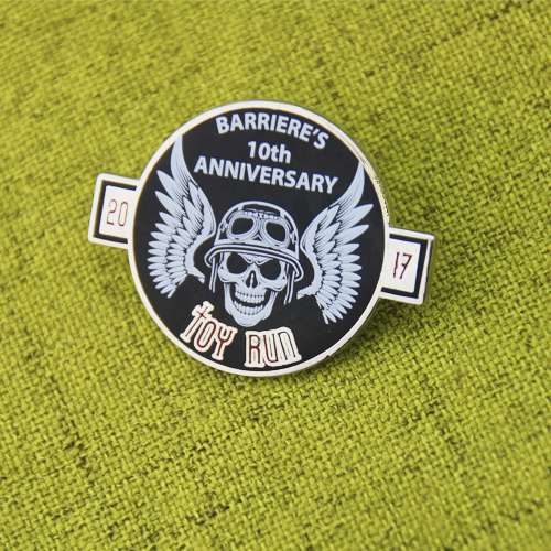 Barriere's 10th Anniversary Custom Lapel Pins