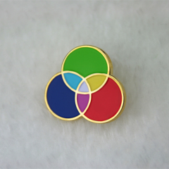 Three Primary Colors  Lapel Pins
