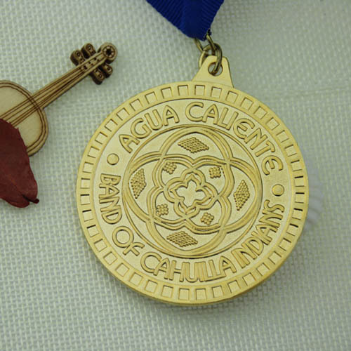 High School Custom Sandblast Medals