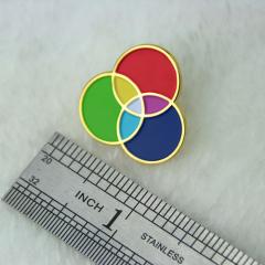 Three Primary Colors  Lapel Pins