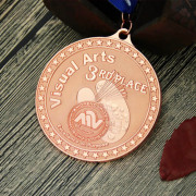 Visual Arts Custom Sandblast medals