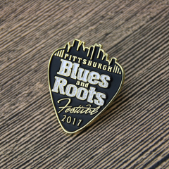 Blues And Roots Lapel Pins