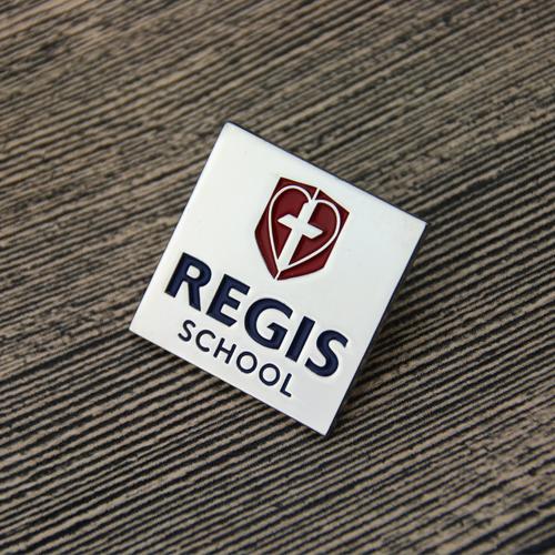 regis school lapel pins