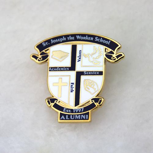 hard enamel pins alumni