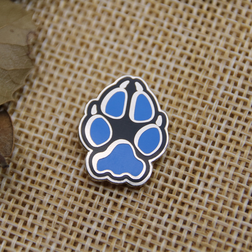paws hard enamel pins