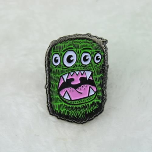 monster lapel pins