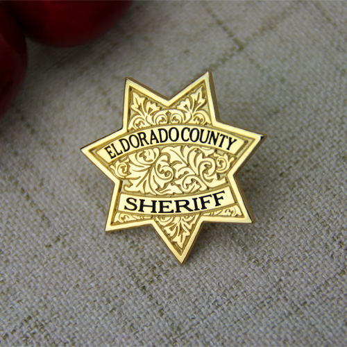 enamel pins sheriff