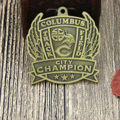 Columbus Track and Field Custom Medals