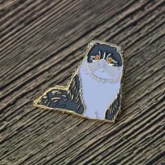 Persian Cat Lapel Pins