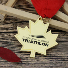 Women's Triathlon Custom Made Medals