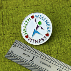 Health Enamel Pins