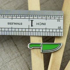 Knife Custom Enamel Pins