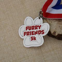 Furry Friends 5k Custom medals