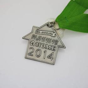 5th Annual Home Run Customized medals
