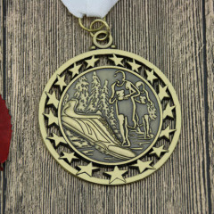 5K Run/ Walk Custom stars medals