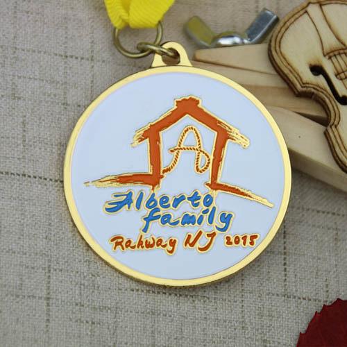 Alberto family Custom Medals