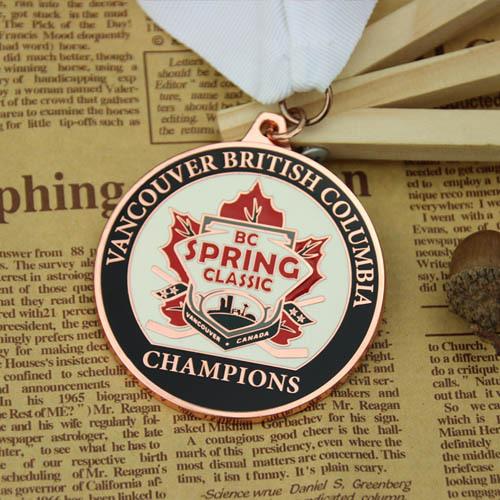 Hockey Tournament Custom Medals