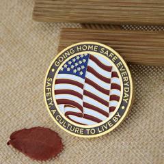 Safety Custom Challenge Coins