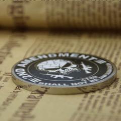 2nd Amendment Custom Challenge Coins