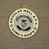Douglas Hall A.F.C. Custom Medals