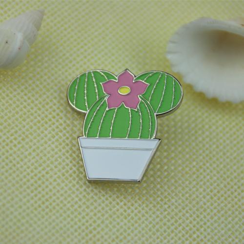 Ball Cactus Lapel Pins