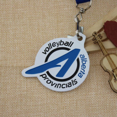 Volleyball Games Custom made medals