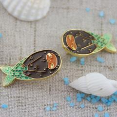 Merfolk Custom Lapel Pins