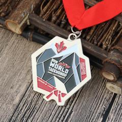The World Teakwondo Custom Medals