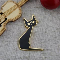 Black Cat Custom Lapel Pins