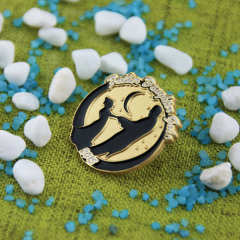 Father Daughter Gala Lapel Pins